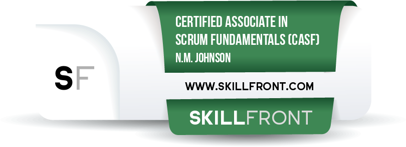 Certified Associate In Scrum Fundamentals™ (CASF™)