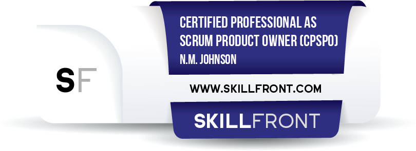 Certified Professional As Scrum Product Owner™ (CPSPO™)
