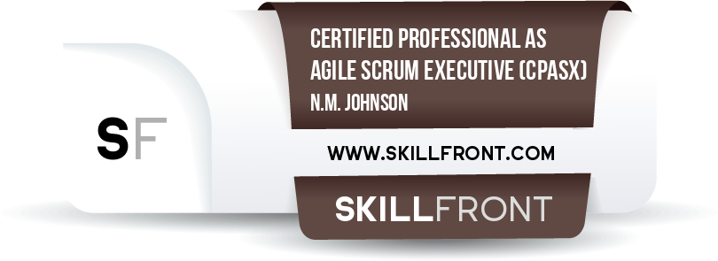 Certified Professional As Agile Scrum Executive™ (CPASX™)