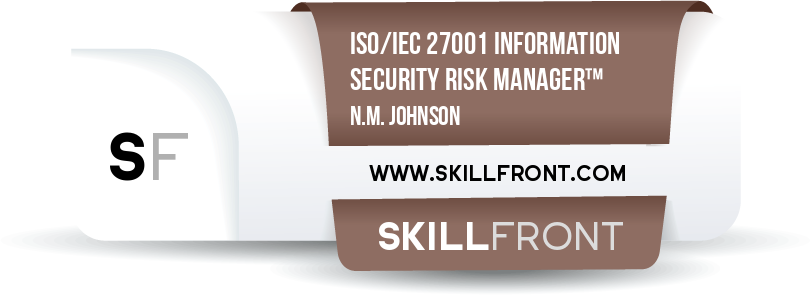 ISO/IEC 27001 Information Security Risk Manager™