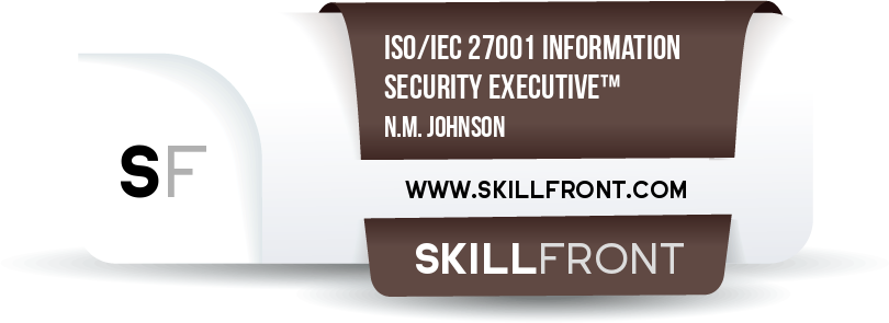 ISO/IEC 27001 Information Security Executive™