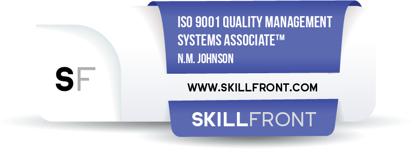 ISO 9001 Quality Management Systems Associate™