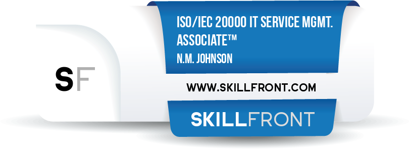 ISO/IEC 20000 IT Service Management Associate™