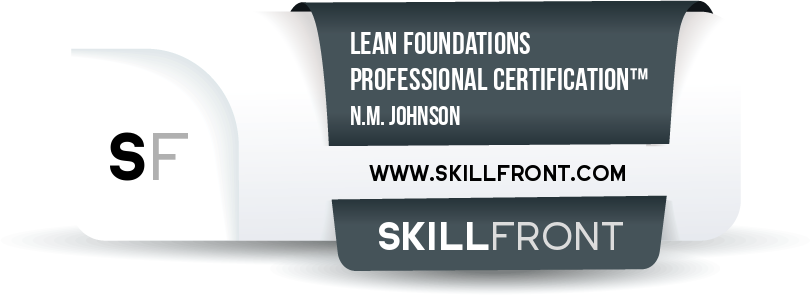 Lean Foundations Professional Certification™ (LFPC™)