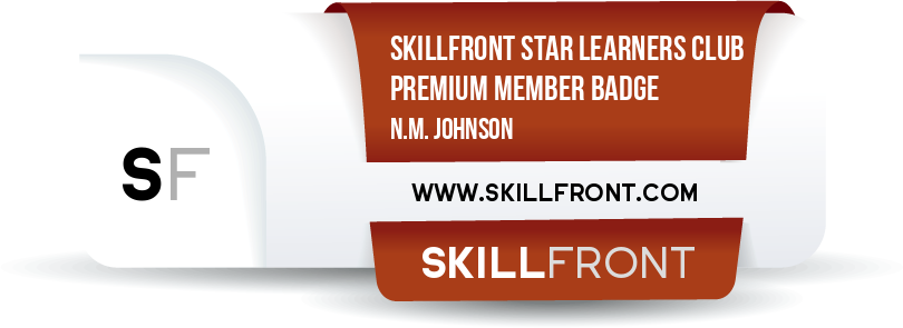 SkillFront Star Learners Club: Premium Member Badge