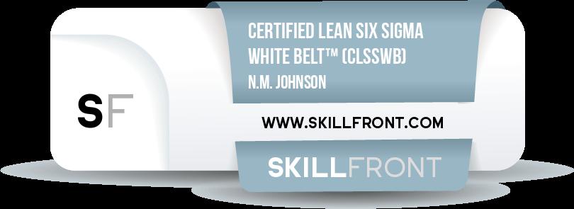 Certified Lean Six Sigma White Belt™ (CLSSWB™)
