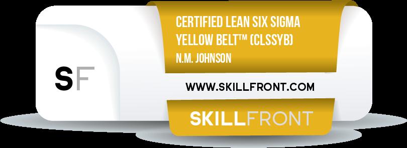 Certified Lean Six Sigma Yellow Belt™ (CLSSYB™)