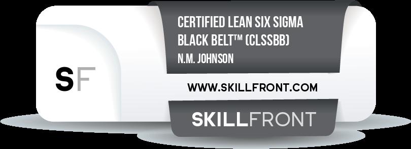 Certified Lean Six Sigma Black Belt™ (CLSSBB™)