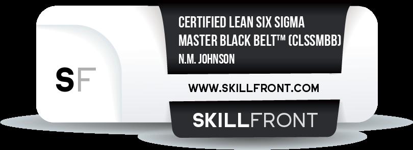 Certified Lean Six Sigma Master Black Belt™ (CLSSMBB™)