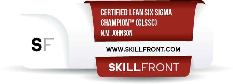 Certified Lean Six Sigma Champion™ (CLSSC™)