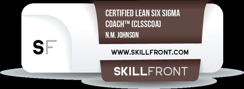 Certified Lean Six Sigma Coach™ (CLSSCOA™)