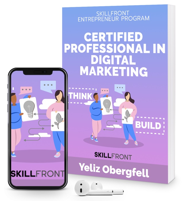 SkillFront Certified Professional In Digital Marketing™ (CPDM™) Certification E-Book and Audiobook