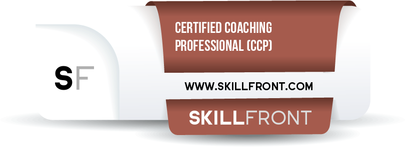 SkillFront Certified Coaching Professional™ (CCP™) Certification Shareable and Verifiable Digital Badge