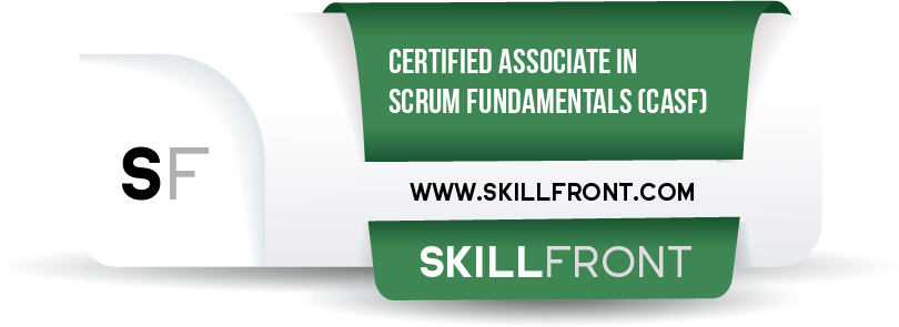 Certified Associate In Scrum Fundamentals™ (CASF™) Badge