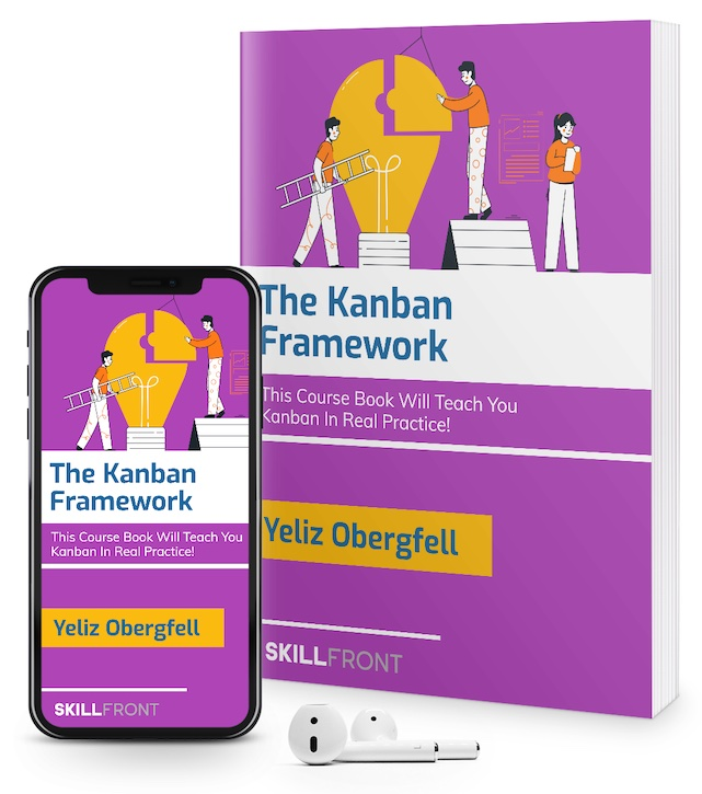 SkillFront Certified Professional As Kanban Executive™ (CPKX™) Certification E-Book and Audiobook