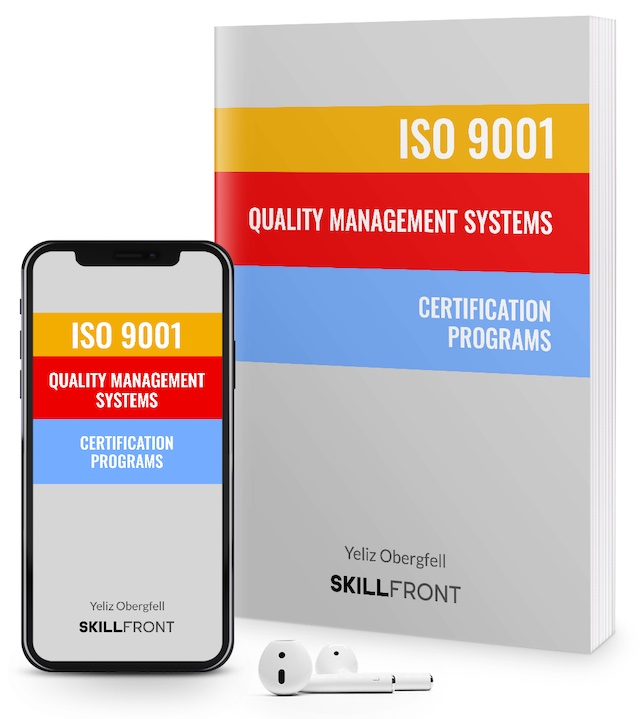 SkillFront ISO 9001 Quality Management Systems Internal Auditor™ Certification E-Book and Audiobook