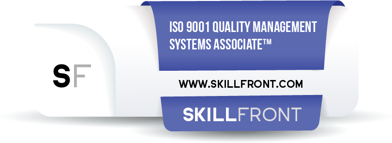 ISO 9001 Quality Management Systems Associate™ Badge