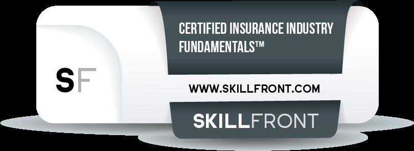 Certified Insurance Industry Fundamentals™ (CIIF™) Badge