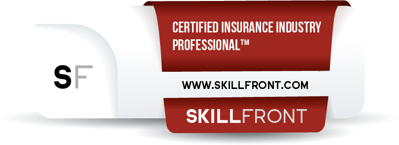 SkillFront Certified Insurance Industry Professional™ (CIIP-I™) Certification Shareable and Verifiable Digital Badge