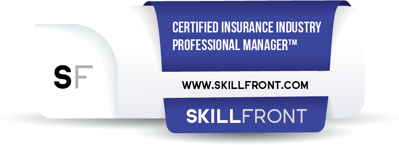 SkillFront Certified Insurance Industry Professional Manager™ (CIIP-II™) Certification Shareable and Verifiable Digital Badge