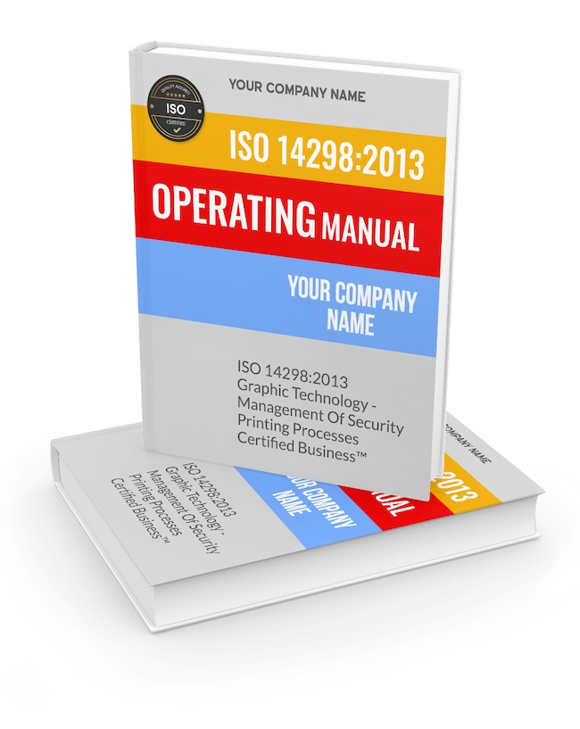 SkillFront ISO 14298:2013 Operating Manual