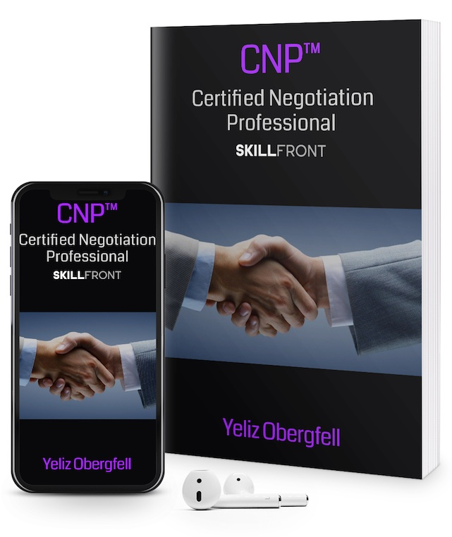 SkillFront Certified Negotiation Professional (CNP™) Certification E-Book and Audiobook